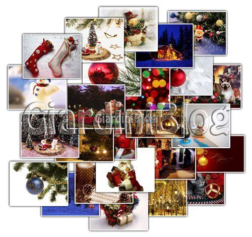 Immagini con stelle natalizie, renne e babbo natale, stelle e decorazioni di natale, per un desktop di natale da condividere. 255 Sfondi Natalizi Selezionati In Alta Risoluzione Hd