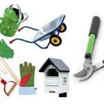 Gli attrezzi principali per il giardinaggio