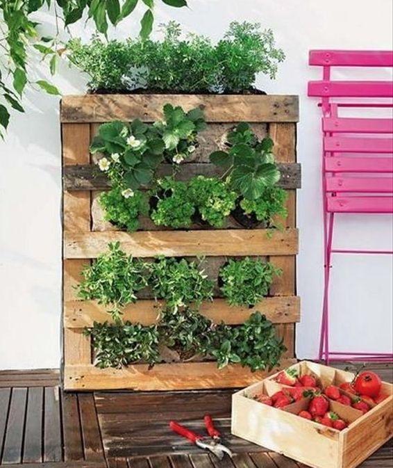 Arredare Il Giardino Con I Bancali Giardini Nel Mondo