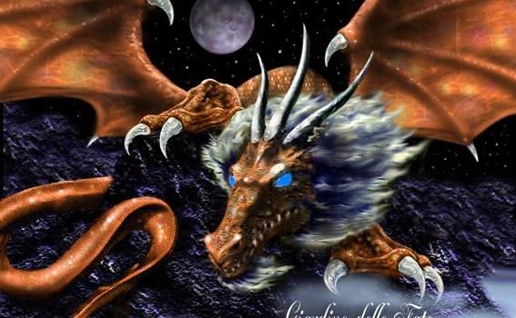draghi mitologia