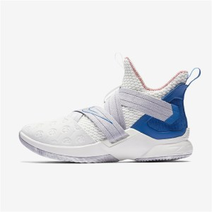 Nike Lebron Soldier 12 blue white