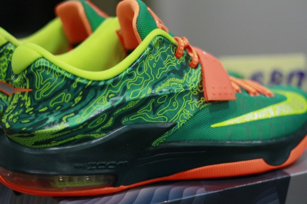 nike kd 7 weatherman green