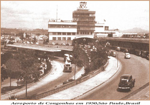 Aeroporto de congonhas - 1950