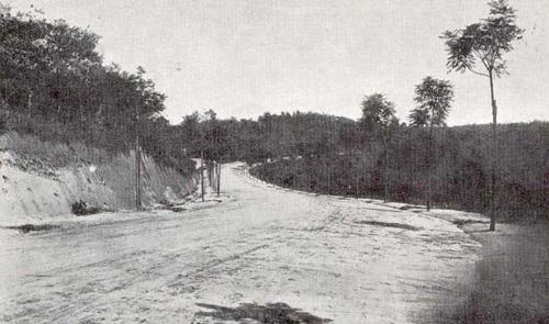 Estrada de Cantareira - 1918