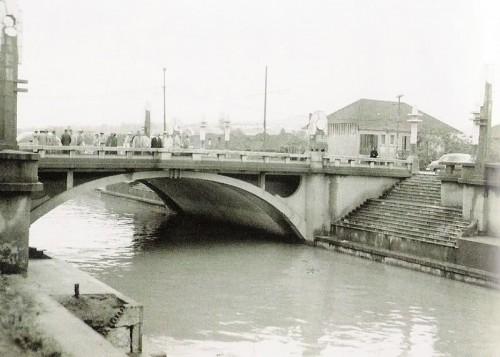 Ponte da avenida Getúlio Vargas em 1950