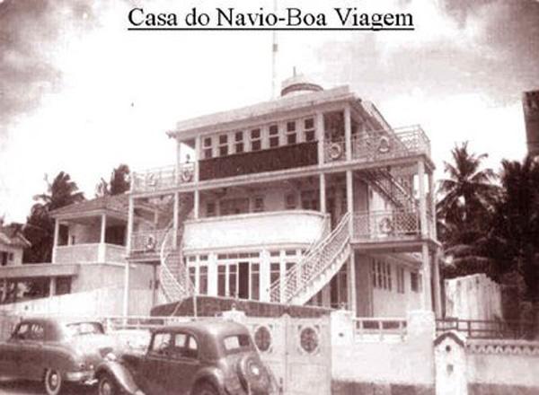 Casa navio em 1940