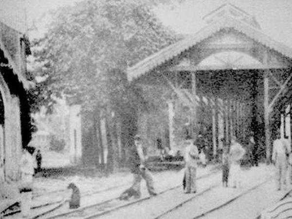 Estação do Bairro da Encruzilhada, século XIX
