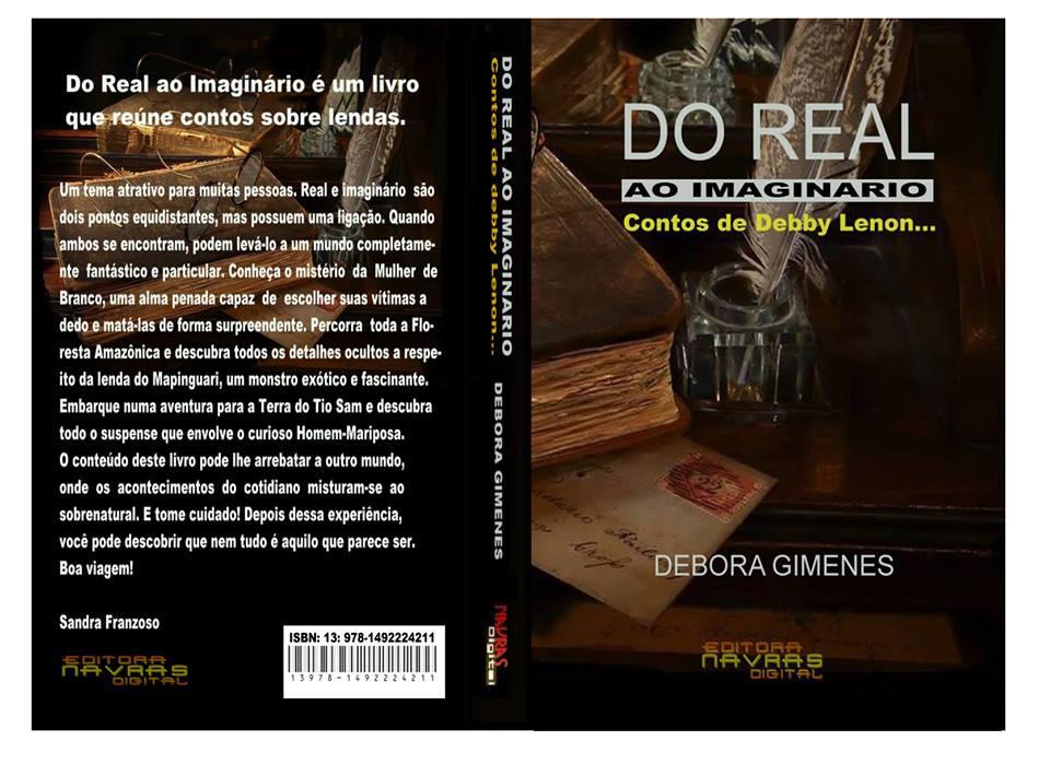 Capa do livro Do Real ao Imaginário de Débora Gimenes