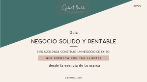 Gibet Moll Mentoría Retail Guia Negocios sólidos y rentables