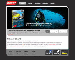 DivedUp.com website image