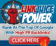 Link Juice Power provides you with the very best quality backlinks to help your website rank higher in Google, Yahoo and Bing.
