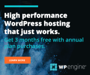 WP Engine build your own your creative vision and take control of your marketing destiny