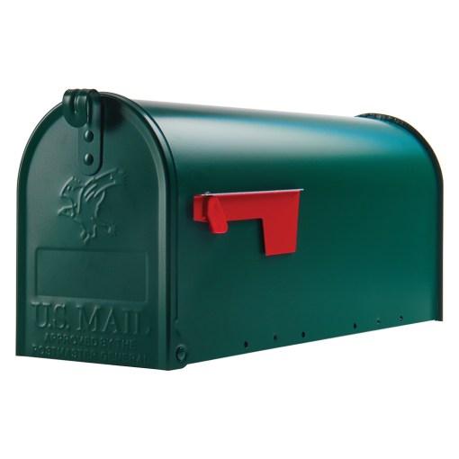 Elite Green mailbox