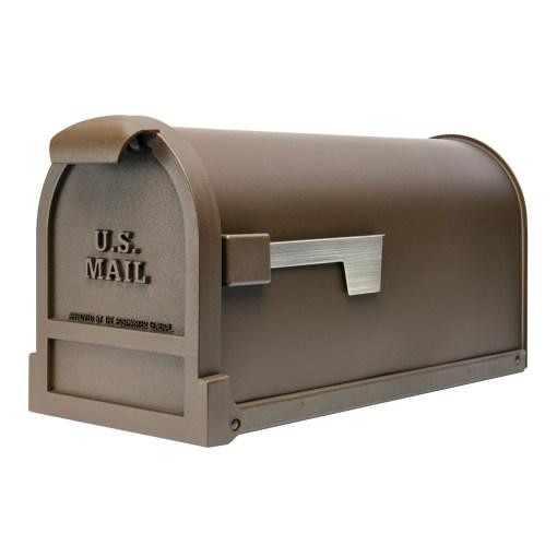 Estate bronze mailbox