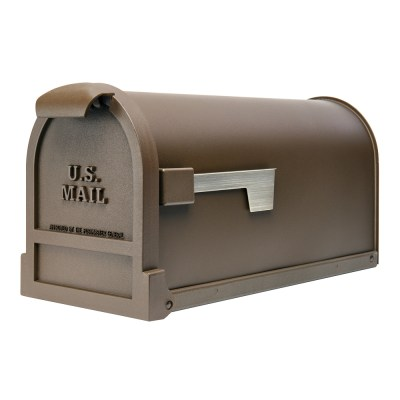 Estate bronze mailbox