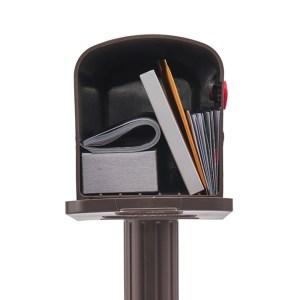 Newbury medium mailbox combo
