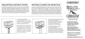 GMB5 Mailbox Mounting Instructions