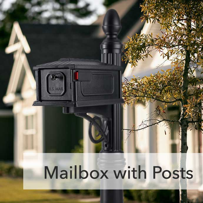 Mailbox with Posts Category