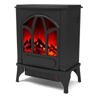 Juno Electric Fireplace Free Standing Portable Space ...