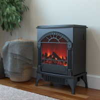 Apollo Electric Fireplace Free Standing Portable Space ...