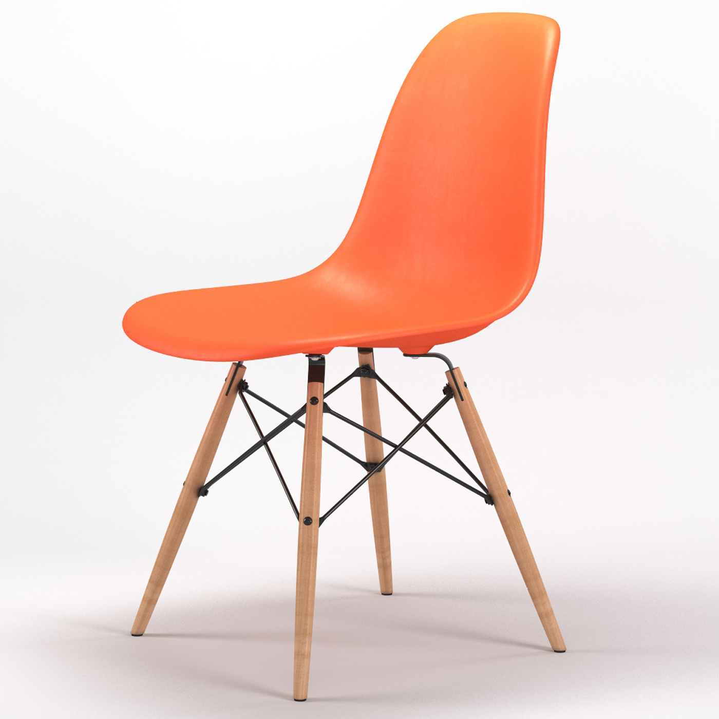 orange side chair coffee table chairs armin wood leg dining in