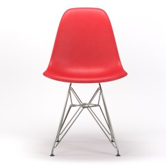 Wire Dining Room Chairs Beach For Cheap Armin Base Side Chair In Red