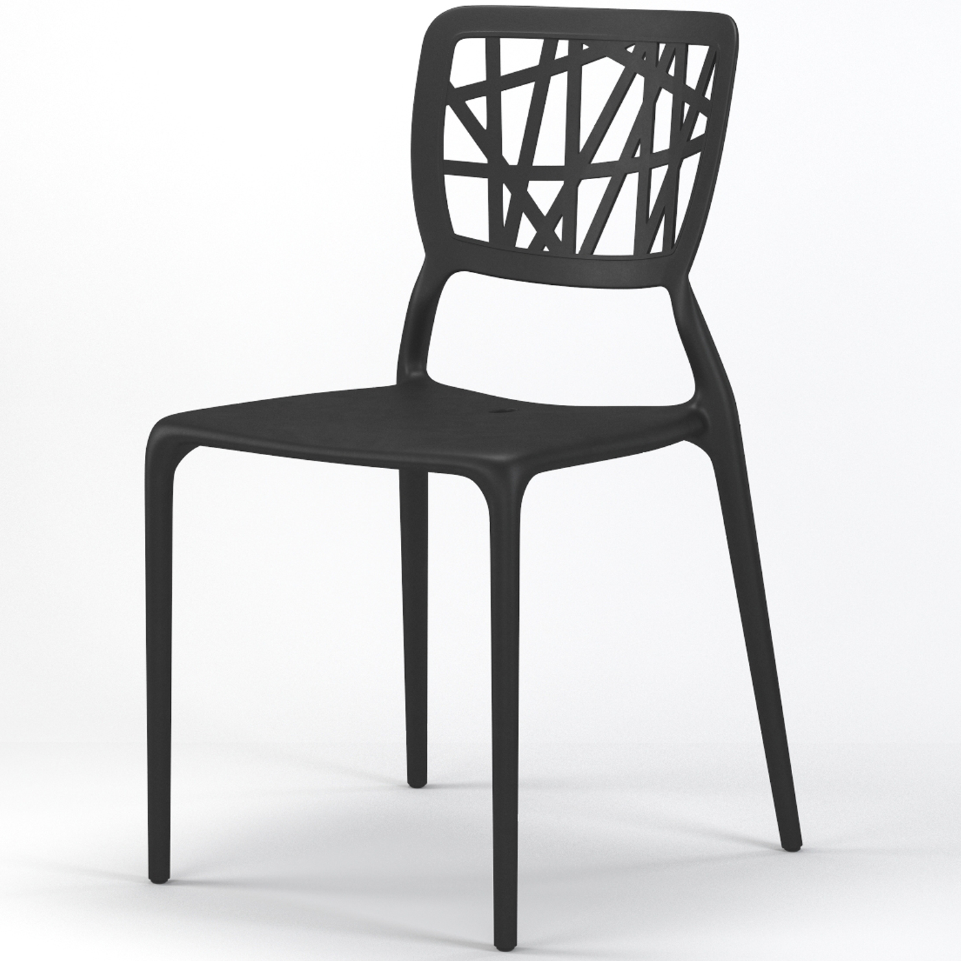 stackable dining room chairs small table with 2 verdant side chair in black