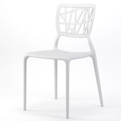 Stackable Dining Room Chairs Outdoor Fire Pit Table And Verdant Side Chair In White
