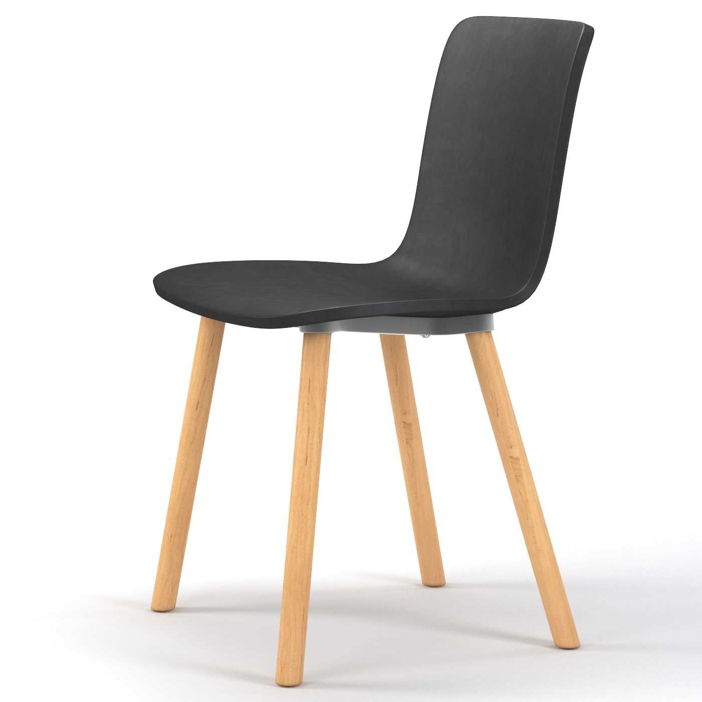 modern plastic chair traditional office chairs studio dining in black