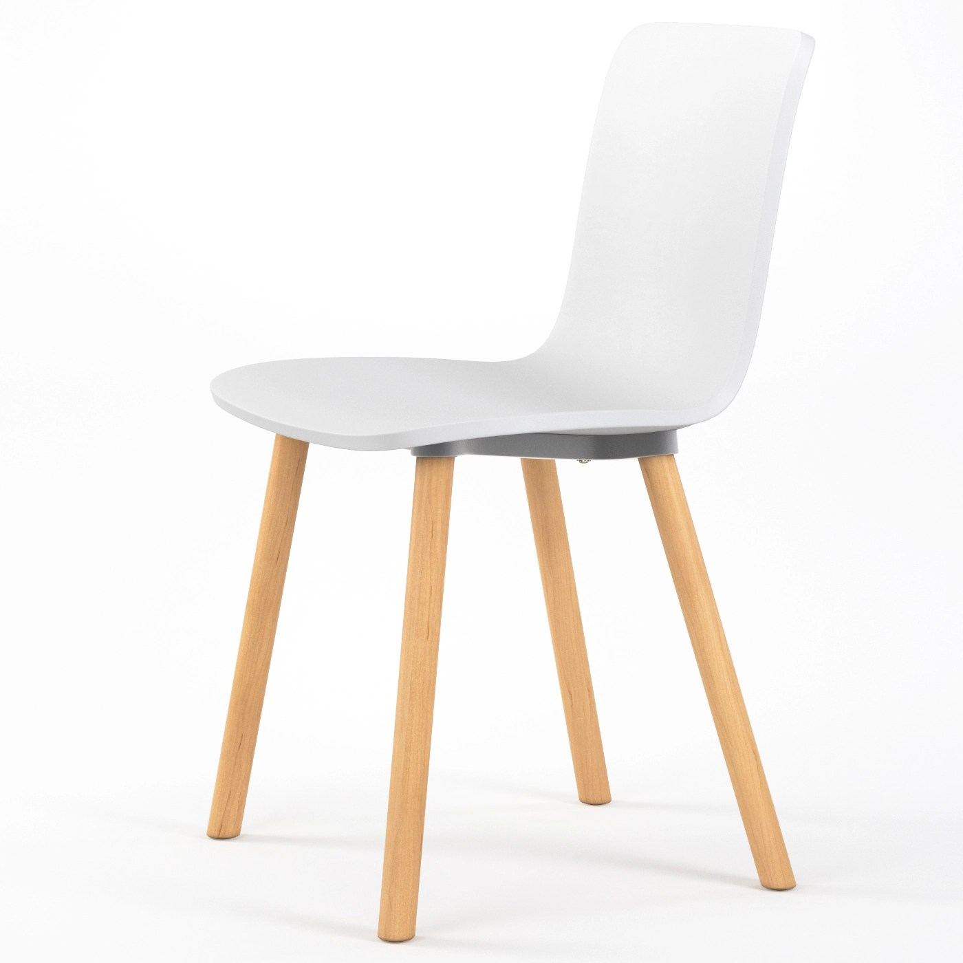 modern plastic chair spandex sashes for folding chairs studio dining in white