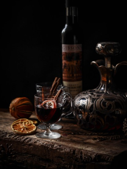 Mulled Elderberry Liqueur
