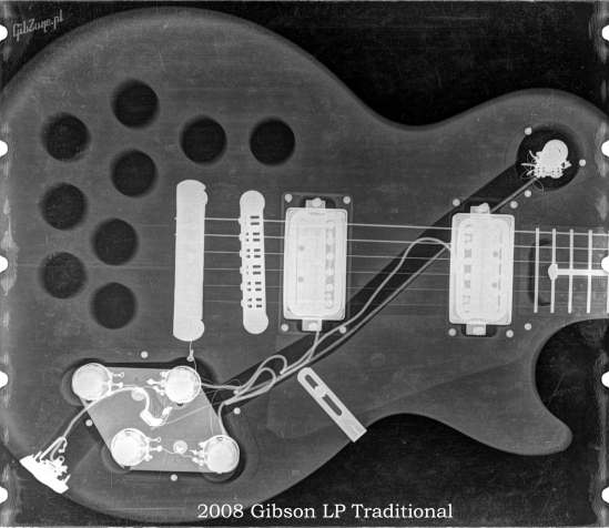 X-ray of the 2008 LP Standard Traditional