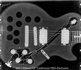 X-ray of the 2011 LP Traditional PRO