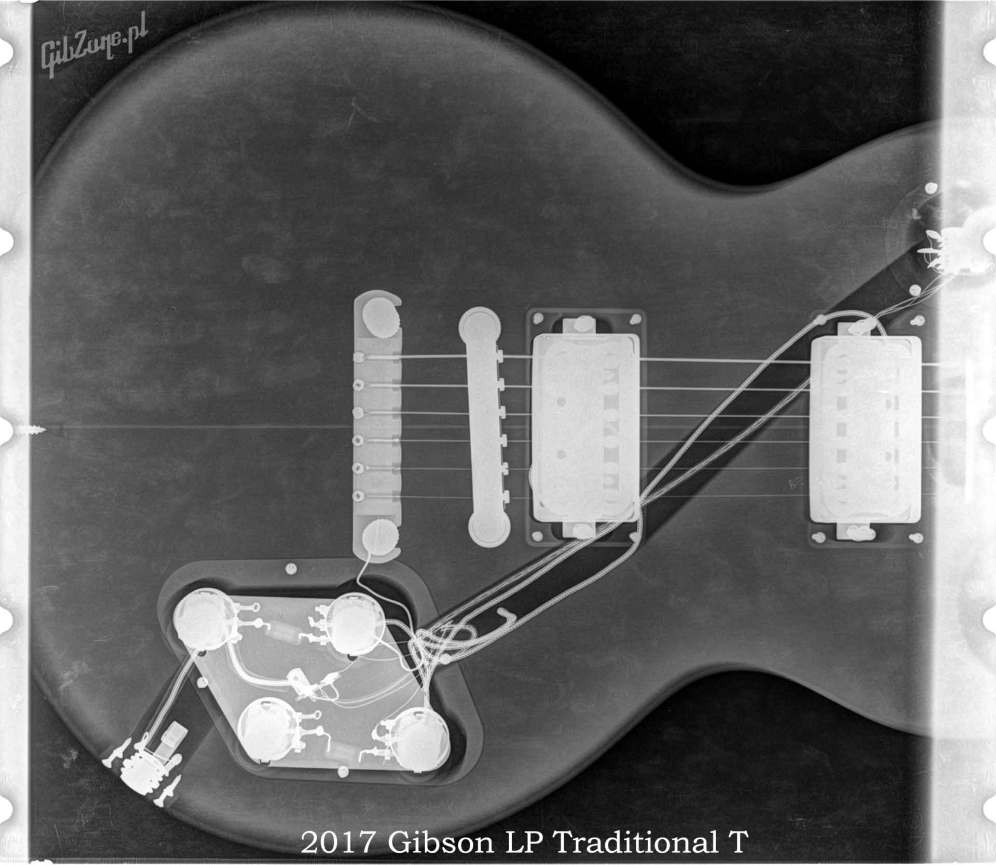 X-ray of the 2017 LP Traditional T