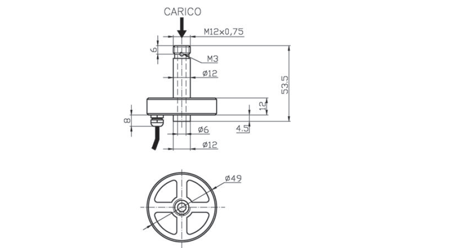 Universal load cell OM2