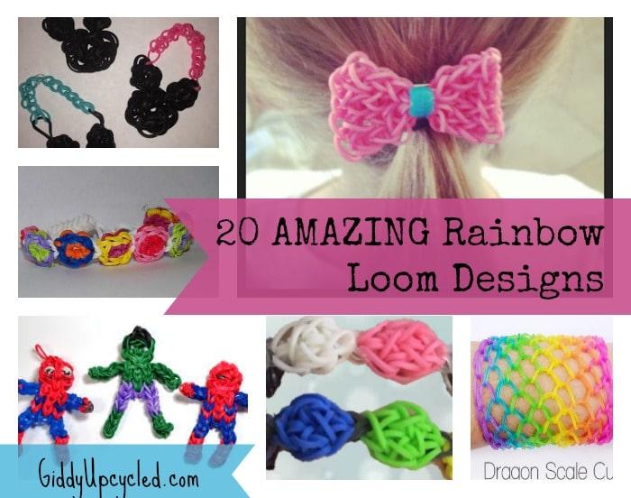20 amazing rainbow loom designs giddy upcycled