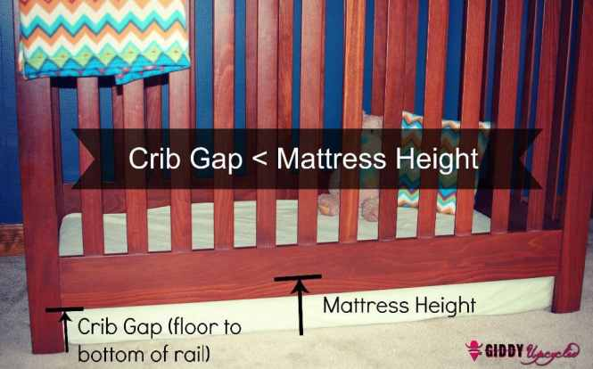 Hack 1 Remove Your Crib S Mattress Support Completely Leaving The Directly On Floor Important Details Below