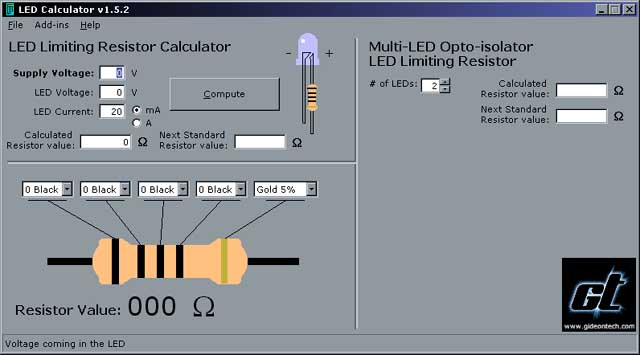 Online Tool To Calculate Resistor Color Code