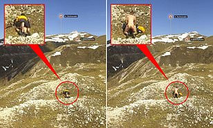 Weather camera uncovers couple having s3x on a 6,500ft mountain (photos)