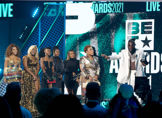 #BETAwards : For The 3rd Time! Burna Boy Wins Best International Act
