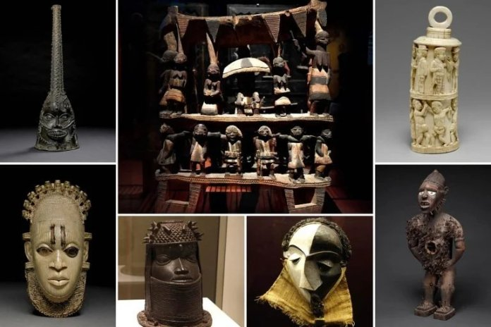 """""""1,130 looted Nigerian artifacts be returned in 2022"""" - Germany"""