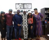 Bisola of #BBNaija joins Don Jazzy & Iyanya at Temple Management Company