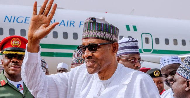 President Buhari Thanks Nigerians For Re-Election