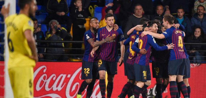 Barcelona mount miracle at Villarreal