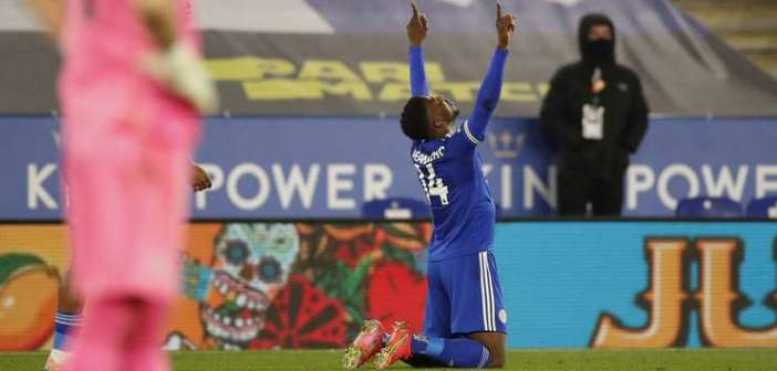 Iheanacho's Wonder Strike Secures Win For Leicester Over Crystal Palace