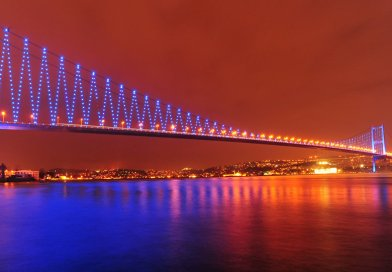 İstanbul Boğazında Teknede İftar