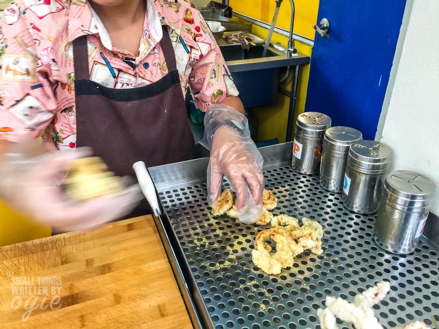 Fried Squid at Asiatique