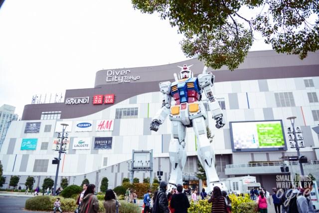Gundam Odaiba DiverCity