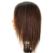 "bridgette 17"" 100 human hair brown"