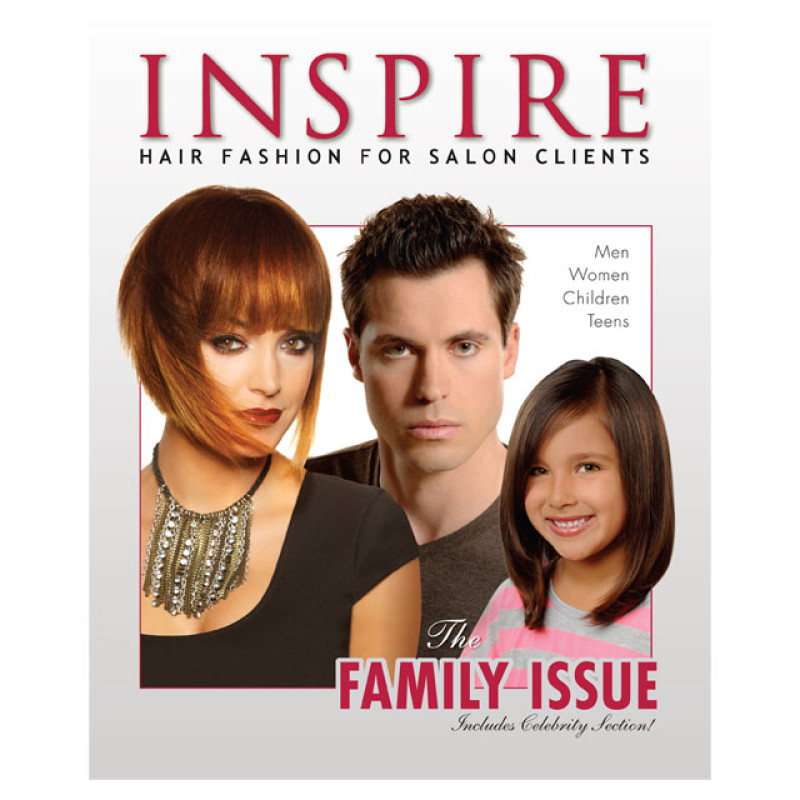 Vol 89  The Family Issue  Inspire Hair Fashion Book for